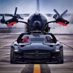 #Mercedes SLS - Alas de Gaviota