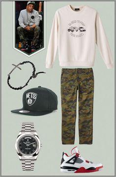ICON LOOK // Jay-Z - Street #Fashion #Style