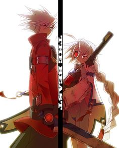 BlazBlue - Ragna and Nu-13