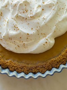 spiced butternut squash pie: Filling: 2 1/2 cups butternut squash puree 1/2 (14 ounce) can sweetened condensed milk 3/4 cup light brown sugar 3 eggs 1/4 cup whole milk 3 tablespoons all purpose flour 2 teaspoon ground cinnamon 1/2 teaspoon nutmeg
