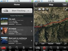 Trailhead: Trailhead by North Face (free) should be your go-to pick for finding a serious outdoor workout. The app locates trails, hikes, bike routes, and more based on your location, and you can also search by activity and the length of the route.