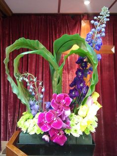 教會插花, flower arrangement, heart