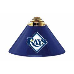 Tampa Bay Rays MLB 3 Shade Billiards Metal Lamp