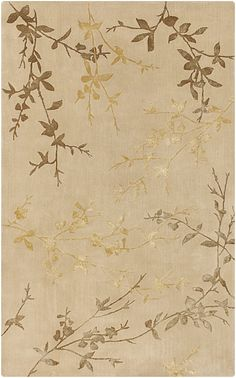 Tamira Floral and Paisley Area Rug Neutral