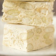 Homemade Torrone from Brown Eyed Baker--my dad and aunts will love this.  TO THE KITCHEN!!!!!