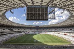 Mineirao Stadium Renovation By Bcmf Architects With Images Stadium Design Stadium Building