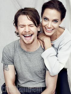 ''When I first met Jack, there was something about the way he holds himself and something about his own experiences that felt like he understood Louie. He's a little wild. As an actor, he's unpredictable, so he's fascinating to watch.'' —Angelina Jolie