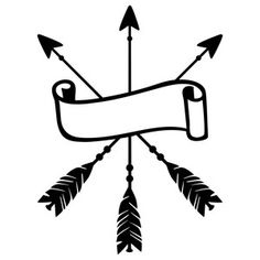 Silhouette Design Store: arrow banner