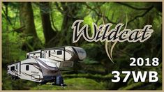 2018 Forest River Wildcat 37WB Fifth Wheel RV For Sale Tradewinds RV Center Shop 2018 Wildcat 37WB and check out our huge online selection now at http://ift.tt/2t3slMp or call TradeWinds RV at 810-547-5965!   The 2018 Wildcat 37WB fifth wheel makes relaxing a luxurious activity!    Youll find two 11-foot power awnings with LED lighting outside marine-grade speakers and outdoor TV hookups on this rig. The 37WB is built with Alumacat welded aluminum construction high-rated insulation and a…