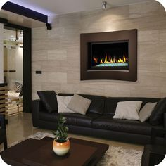 BCDV36CFG direct vent gas fireplace - continental