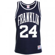 Franklin & Marshall Mens Navy Big Logo Vest £32 hurleys.co.uk