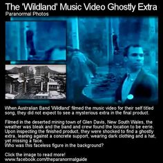 ghost photo in music video Scary Ghost Pictures, Ghost Images, Ghost Photos, Creepy Stories, Ghost Stories, Scary Places, Haunted Places, Ghost Hauntings, Real Haunted Houses