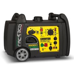 Champion Dual Fuel RV Ready Portable Inverter Generator with Electric Start: portable generator, honda inverter generator. Best Portable Generator, Dual Fuel Generator, Camping Generator, Portable Inverter Generator, Portable Heater, Solar Generator, Rv Outlet, Rv Air Conditioner, Camping
