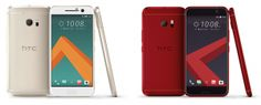 The HTC 10 is now available in a devilish red and 'topaz gold' in the US