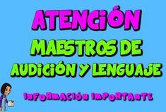 Maestros de Audición y Lenguaje | Materiales para trabajar Audición y Lenguaje por Eugenia Romero Creative, Speech Language Therapy, Preschool, Therapy, Social Networks, Reading