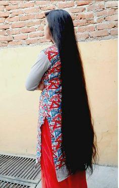 Long Black Hair, Long Layered Hair, Long Hair Cuts, Long Hair Styles, Loose Hairstyles, Indian Hairstyles, Pretty Hairstyles, Indian Long Hair Braid, Braids For Long Hair