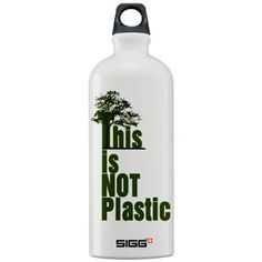 no plastic - go and get your sigg!