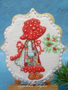 ❄☃ Christmas Cakes Cookies Cupcakes Sweets ☃❄ Christmas Holly Hobby | Cookie Connection