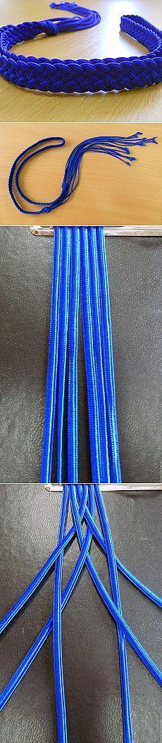 Belt. Braiding cords. Part 1. - Fair Masters - handmade, handmade