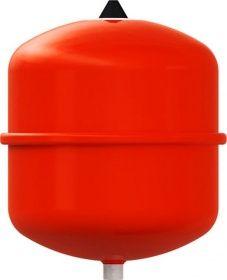 Membranausdehnungsgefäße sind mit einer flexiblen Gummimembran ausgerüstet, die Flüssigkeit und Gaspolster trennt, und vermeiden so weitestgehend den Gasübergang in die Flüssigkeit. Eine sonst regelmäßig notwendig werdende Anlagenwartung entfällt, weswegen in modernen Heizungs- und Sonnenkollektoranlagen ausschließlich diese Bauart verwendet wird (WIKIPEDIA). Dieses Membrandruckausdehnungsgefäß für geschlossene Heizungs-und Kühlwasseranlagen ist von Reflex.