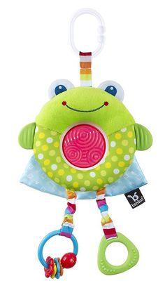 Benbat Dazzle Travel - Wandelwagen speeltje frog