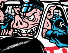 Hansen Skates on Behance Dope Cartoons, Dope Cartoon Art, Retro Cartoons, Graphic Design Illustration, Illustration Art, Dibujos Tattoo, Pig Drawing, 8bit Art, Skate Art