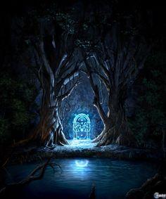 Moria. Temes entrar en esas minas. Los enanos cavaron congran ambición, y muy profundo. Ya sabes lo que despertaron en la Oscuridad de Khazad-dum. La Sombra y la Llama…