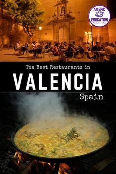 The best restaurants in Valencia Spain: where are they? In this post, I'll l. - Al Andaluz - Travel & Restaurants Spain Places To Visit, Best Places To Eat, Valencia Spain Beach, Valencia City, Valencia Restaurant, Cheap Family Holidays, Family Travel Insurance, Europe Beaches, Cheap Places To Travel