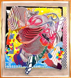 frank stella He is one of the most well-regarded postwar American artists still working toda
