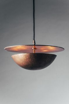 Eclipse – craftwork copper lamp by MBQ MOBIL made in Romania on CROWDYHOUSE #lamp #copper #design