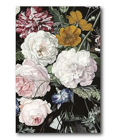 Another great find on #zulily! Baroque Botanica I Canvas #zulilyfinds