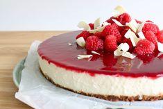 Witte chocolade cheesecake met Bastogne & frambozen | Knoeien met Inge