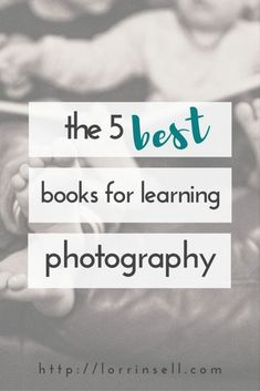 Better Pictures - wishing you could take better pictures of your kids? check out these 5 books for learning photography To anybody wanting to take better photographs today Photography Books For Beginners, Book Photography, Photography Tutorials, Photography Business, Amazing Photography, Better Photography, Photography Hacks, Hobby Photography, Nikon Photography