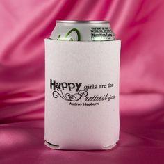 Set of 10 Girls Night Out Play Hard Love Hard Bachelorette Can Koozies Get Your Custom Koozies at Kooziez.com