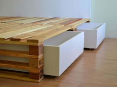 Simple Pallets Bed DIY Pallet Bed, Pallet Headboard & Frame