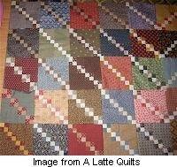 Tutorial: Double four-patch quilt · Needlework News   CraftGossip.com
