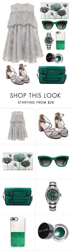 """G&G."" by schenonek ❤ liked on Polyvore featuring Kalmanovich, TOMS, Marc Jacobs, Rolex, Casetify and Bobbi Brown Cosmetics"