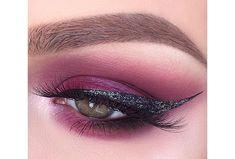 19 Ways Pink Eyeshadow Can Actually Look Totally Badass Pink Eye Makeup, Pink Eyeshadow, Beauty Makeup, Makeup Art, Brown Makeup, Beauty Tips, Makeup Inspo, Makeup Inspiration, Makeup Ideas