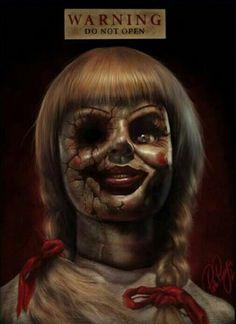 Best Horror Movies, Horror Films, Scary Movies, Horror Art, Annabelle Doll, Evil Eye Art, Creepy Art, Creepy Stuff, Horror Icons