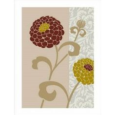 #2: Chrysanthemums III Art Poster Print by Max Carter, 24x32