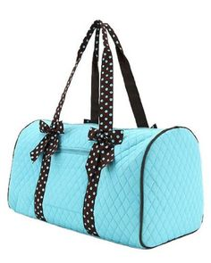 Personalized Duffle Bag Zebra Blue DANCE GYM Luggage | Bags ...