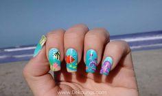Decoración de uñas playa   Cuidar de tu belleza es facilisimo.com