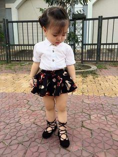 Trendy Ideas Dress Mini Fashion Little Girls Cute Kids Fashion, Cute Outfits For Kids, Little Girl Fashion, Toddler Fashion, Cute Toddler Girl Clothes, Toddler Girl Outfits, Baby Girl Party Dresses, Toddler Girl Dresses, Trendy Outfits