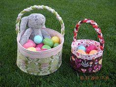 Maniacal Material Girls: Easter Basket Tutorial
