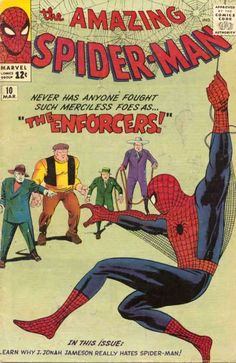 Amazing Spider-Man # 10 by Steve Ditko & Jack Kirby Spider-Man's humble beginnings