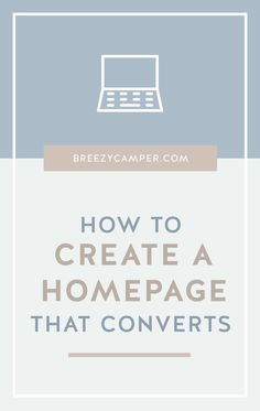 Do you want visitors who land on your homepage to stay longer and become customers? I'll be sharing the secret on how to create a homepage that converts readers into customers, and it& easier than you think.