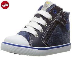Baby Jungen B Kiwi Boy A Lauflernschuhe, Blau (Navy/ROYALC4226), 26 EU Geox
