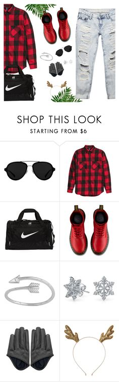 """Your Daily Flatlay no. 13"" by frustrated-designer on Polyvore featuring 3.1 Phillip Lim, NIKE, Dr. Martens, Bling Jewelry and Wet Seal"