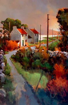 Light of Donegal, by Michael O'Toole 40 x 60 Acrylic on canvas $5,650 SOLD