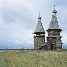 Another North Russian wooden church. Yandomozero, Karelia region, Church of St Barbara the Martyr